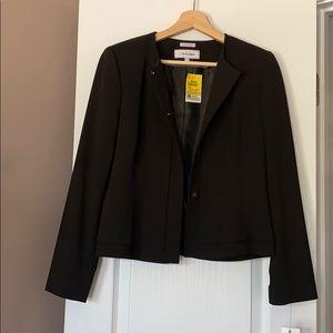 Black Calvin Klein suit jacket